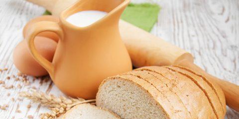 Хліб з молоком