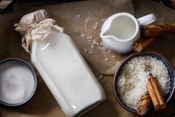 Рисовое и овсяное молоко