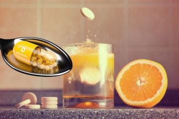 Вітаміни C i D