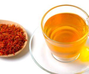 чай з шафраном