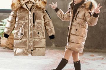 Модные зимние пальто для девочки