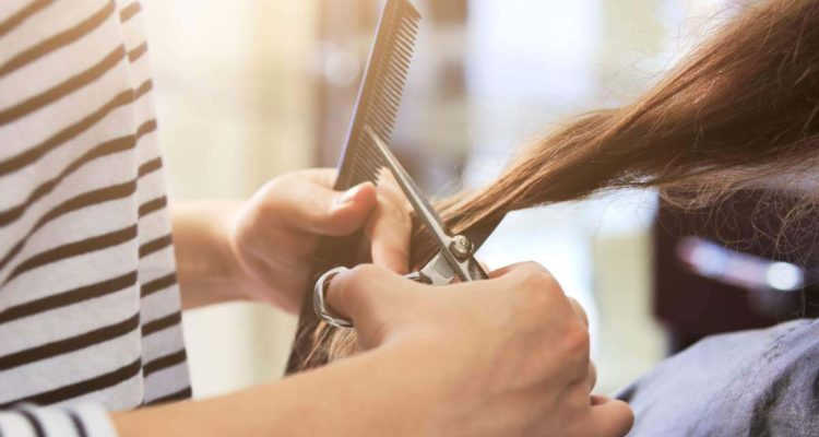 В перукарні
