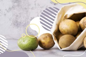 Зелена картопля