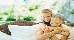бабуся і внук