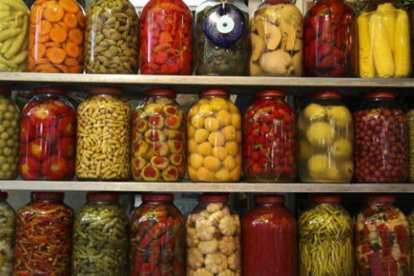 консервовані овочі