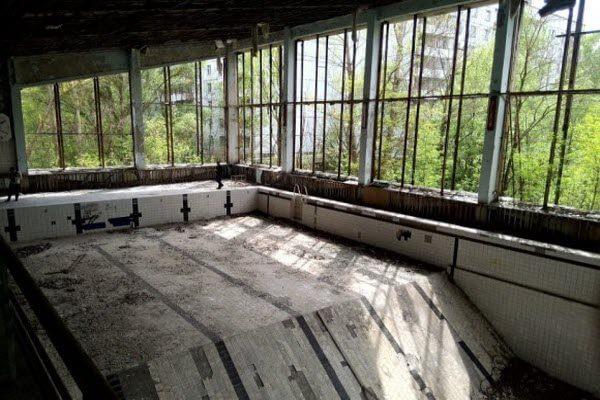 Олімпійський басейн в Прип'яті